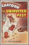 "Movie Posters:Animated, The Uninvited Pest (MGM, R-1949). One Sheet (27"" X 41""). Animated....."