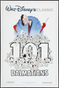 "Movie Posters:Animated, 101 Dalmatians (Buena Vista, R-1991). One Sheet (27"" X 40"") DS. Animated.. ..."