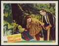 "Movie Posters:Horror, Abbott and Costello Meet Frankenstein (Universal International,1948). Lobby Card (11"" X 14""). Horror.. ..."