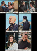 """Movie Posters:Adventure, The Light at the Edge of the World (National General, 1971).International Lobby Card Set of 12 (9.5"""" X 13.5""""). Adventure.. ...(Total: 12 Items)"""