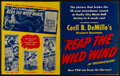 "Movie Posters:Adventure, Reap the Wild Wind (Paramount, 1942). Uncut Pressbook (28 Pages,12"" X 15.5""). Adventure.. ..."