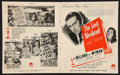 "Movie Posters:Academy Award Winners, The Lost Weekend (Paramount, 1946). Australian Pressbook (Multiple Pages) (10"" X 12""). Academy Award Winners.. ..."