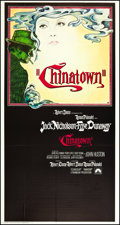 "Movie Posters:Mystery, Chinatown (Paramount, 1974). Three Sheet (41"" X 81""). Mystery.. ..."
