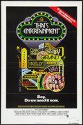 "Movie Posters:Musical, That's Entertainment! (MGM, 1974). One Sheet (27"" X 41""). Flat Folded. Musical.. ..."
