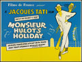 "Movie Posters:Comedy, Mr. Hulot's Holiday (Films de France, 1953). British Quad (30"" X40""). Comedy.. ..."