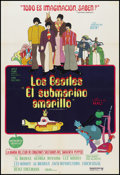 "Movie Posters:Animation, Yellow Submarine (United Artists, 1968). Argentinean Poster (29"" X 43""). Animation.. ..."
