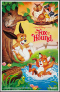 "Movie Posters:Animated, The Fox and the Hound (Buena Vista, R-1988). One Sheet (27"" X 40"").Animated.. ..."