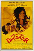 """Movie Posters:Drama, Nashville Girl (New World, 1976). One Sheet (27"""" X 41""""). Drama. Also known as Country Music Daughter.. ..."""