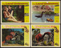 """Movie Posters:Science Fiction, Dinosaurus! and Other Lot (Universal International, 1960). LobbyCards (4) (11"""" X 14""""). Science Fiction.. ... (Total: 4 Items)"""