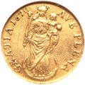 German States:Hamburg, German States: Hamburg. Free City gold 2 Ducats 1670-MF,...