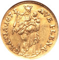 German States:Hamburg, German States: Hamburg. Free City gold Ducat 1675-HL,...