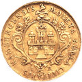 German States:Hamburg, German States: Hamburg. Free City gold Ducat 1714-IR,...