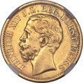 German States:Reuss-Schleiz, German States: Reuss-Schleiz. Heinrich XIV gold 20 Mark 1881A,...