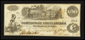 Confederate Notes:1862 Issues, T39 $100 1862.. ...