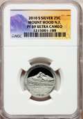 Proof National Parks Quarters, 2010-S 25C Mount Hood National Forest Silver PR69 Ultra Cameo NGC.NGC Census: (0/0). PCGS Population (1310/330). (#41885...