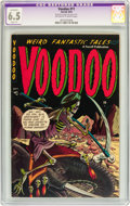 Golden Age (1938-1955):Horror, Voodoo #11 (Farrell, 1953) CGC Apparent FN+ 6.5 Slight (P)Off-white to white pages....