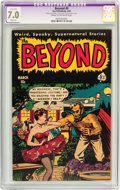 Golden Age (1938-1955):Horror, The Beyond #9 (Ace, 1952) CGC Apparent FN/VF 7.0 Slight (A) Creamto off-white pages....