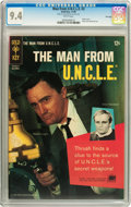 Silver Age (1956-1969):Adventure, Man from U.N.C.L.E. #3 File Copy (Gold Key, 1965) CGC NM 9.4 White pages....