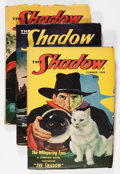 Pulps:Detective, Shadow Group (Street & Smith, 1948-49) Condition: AverageVG+.... (Total: 4 )