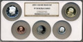 Proof Sets, 2007-S $1 Silver Proof Set PR70 Ultra Cameo NGC. This Set Includes: 2007-S $1 Sacagawea, 2007-S 50C Kennedy, 2007-S 10C ...