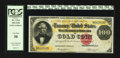 Large Size:Gold Certificates, Fr. 1214 $100 1882 Gold Certificate PCGS Very Fine 30.. ...