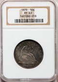 Proof Seated Half Dollars, 1879 50C PR63 NGC....
