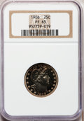 Proof Barber Quarters, 1906 25C PR65 NGC....