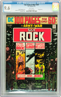 Bronze Age (1970-1979):War, Our Army at War #269 (DC, 1974) CGC NM+ 9.6 White pages....