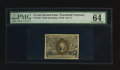 Fractional Currency:Second Issue, Fr. 1234 5¢ Second Issue PMG Choice Uncirculated 64 EPQ.. ...