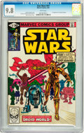 Modern Age (1980-Present):Science Fiction, Star Wars #47 (Marvel, 1981) CGC NM/MT 9.8 White pages....