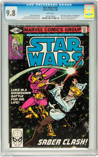 Star Wars #33 (Marvel, 1980) CGC NM/MT 9.8 White pages