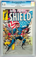 Modern Age (1980-Present):Superhero, Nick Fury Agent of S.H.I.E.L.D. #1 (Marvel, 1983) CGC NM/MT 9.8White pages....