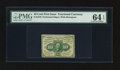Fractional Currency:First Issue, Fr. 1240 10¢ First Issue PMG Choice Uncirculated 64 EPQ.. ...