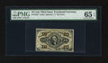 Fractional Currency:Third Issue, Fr. 1256 10¢ Third Issue PMG Gem Uncirculated 65 EPQ.. ...