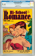 Golden Age (1938-1955):Romance, Hi-School Romance #6 File Copy (Harvey, 1950) CGC NM 9.4 Cream tooff-white pages....
