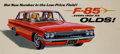 Mainstream Illustration, AMERICAN ARTIST (20th Century). Oldsmobile F-85advertisement. Gouache on board. 13 x 29 in.. Not signed.From the E...