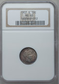 Barber Dimes, 1907-S 10C MS65 NGC....