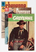 Silver Age (1956-1969):Western, Cheyenne Group (Dell, 1956-62).... (Total: 9 Comic Books)