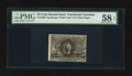 Fractional Currency:Second Issue, Fr. 1290 25¢ Second Issue PMG Choice About Unc 58 EPQ.. ...