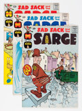 Silver Age (1956-1969):Humor, Sad Sack and the Sarge #31-76 File Copy Group (Harvey, 1962-65) Condition: Average VF/NM.... (Total: 97 Comic Books)