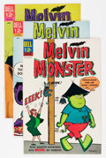 Silver Age (1956-1969):Humor, Melvin Monster File Copies Group (Dell, 1965-69) Condition: Average VF+.... (Total: 8 Comic Books)