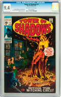 Bronze Age (1970-1979):Horror, Tower of Shadows #4 (Marvel, 1970) CGC NM 9.4 Off-white to whitepages....