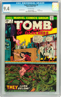 Bronze Age (1970-1979):Horror, Tomb of Darkness #9 (Marvel, 1974) CGC NM 9.4 Off-white pages....