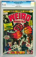 Bronze Age (1970-1979):Horror, Weird Wonder Tales #1 (Marvel, 1973) CGC NM 9.4 Off-white pages....