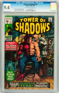 Bronze Age (1970-1979):Horror, Tower of Shadows #5 (Marvel, 1970) CGC NM 9.4 Off-white to whitepages....