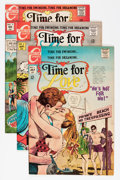 Bronze Age (1970-1979):Romance, Time For Love Group (Charlton, 1967-76) Condition: Average NM-....(Total: 40 Comic Books)