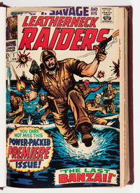 Captain Savage #1-19 Bound Volume (Marvel, 1968-70)