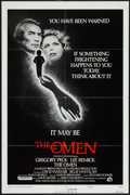 """Movie Posters:Horror, The Omen (20th Century Fox, 1976). One Sheet (27"""" X 41"""") Style F.Horror.. ..."""