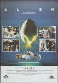 "Movie Posters:Science Fiction, Alien (20th Century Fox, 1979). Spanish One Sheet (26.5"" X 28.5"").Science Fiction.. ..."