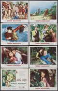 "Movie Posters:Drama, Green Mansions (MGM, 1959). Lobby Card Set of 8 (11"" X 14""). Drama.. ... (Total: 8 Items)"